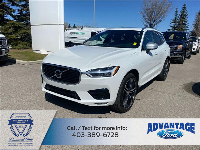 2019 Volvo XC60 T6 R-Design (Stk: M-321A) in Calgary - Image 1 of 20
