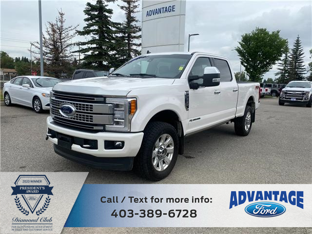 2019 Ford F-350 Platinum (Stk: M-725A) in Calgary - Image 1 of 18