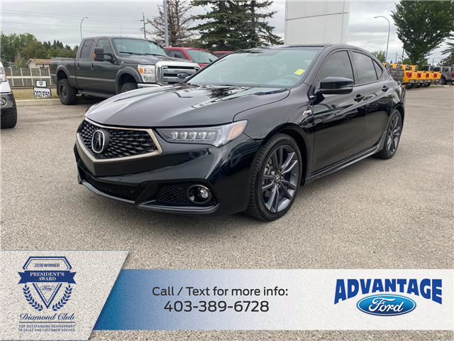 2019 Acura TLX Tech A-Spec (Stk: M-930A) in Calgary - Image 1 of 16