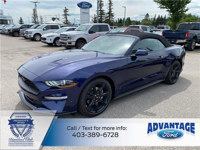 2020 Ford Mustang EcoBoost (Stk: L-893) in Calgary - Image 1 of 7