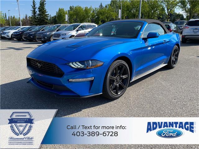 2020 Ford Mustang EcoBoost (Stk: L-1012) in Calgary - Image 1 of 5