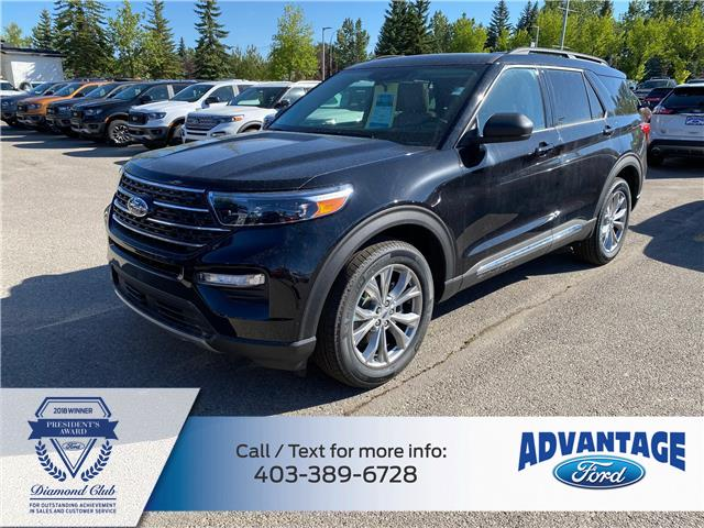 2020 Ford Explorer XLT (Stk: L-074) in Calgary - Image 1 of 8