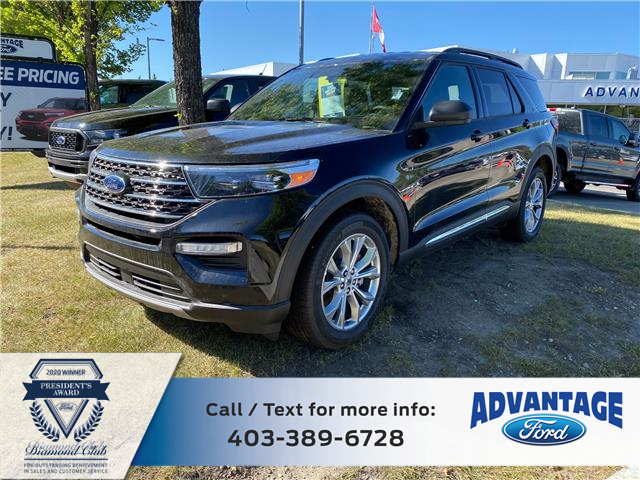 2020 Ford Explorer XLT (Stk: L-460) in Calgary - Image 1 of 7