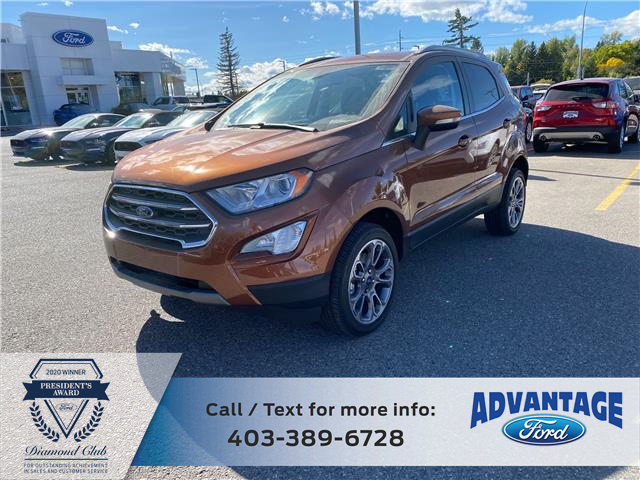 2020 Ford EcoSport Titanium (Stk: L-962) in Calgary - Image 1 of 6