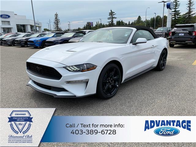 2020 Ford Mustang EcoBoost (Stk: L-892) in Calgary - Image 1 of 5