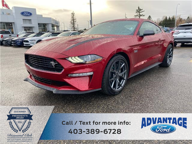 2020 Ford Mustang EcoBoost (Stk: L-1011) in Calgary - Image 1 of 5