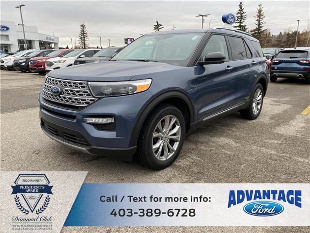 2021 Ford Explorer Limited (Stk: M-003) in Calgary - Image 1 of 7