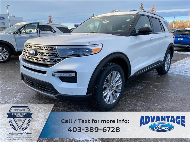 2021 Ford Explorer Limited (Stk: M-077) in Calgary - Image 1 of 7