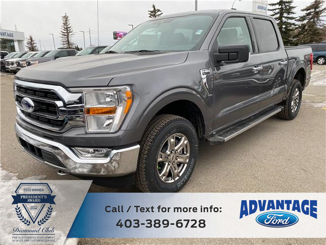 2021 Ford F-150 XLT (Stk: M-107) in Calgary - Image 1 of 9