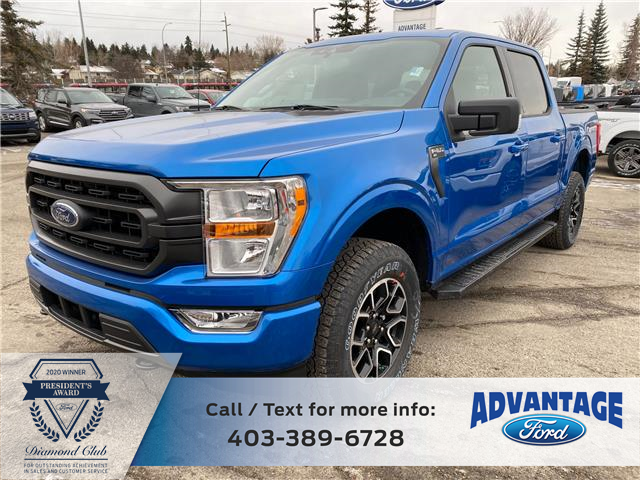 2021 Ford F-150 XLT (Stk: M-110) in Calgary - Image 1 of 9