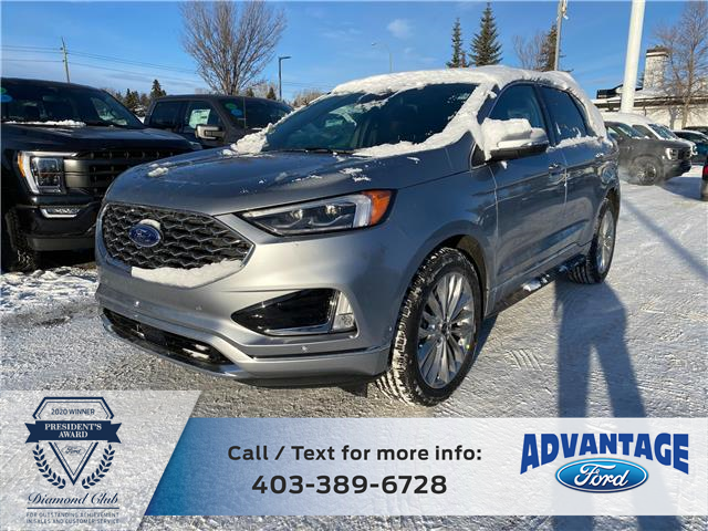 2020 Ford Edge Titanium (Stk: L-1515) in Calgary - Image 1 of 7