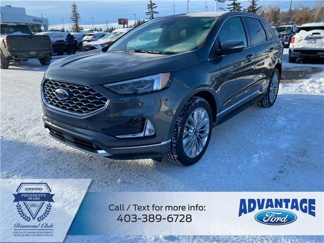 2020 Ford Edge Titanium (Stk: L-1516) in Calgary - Image 1 of 7