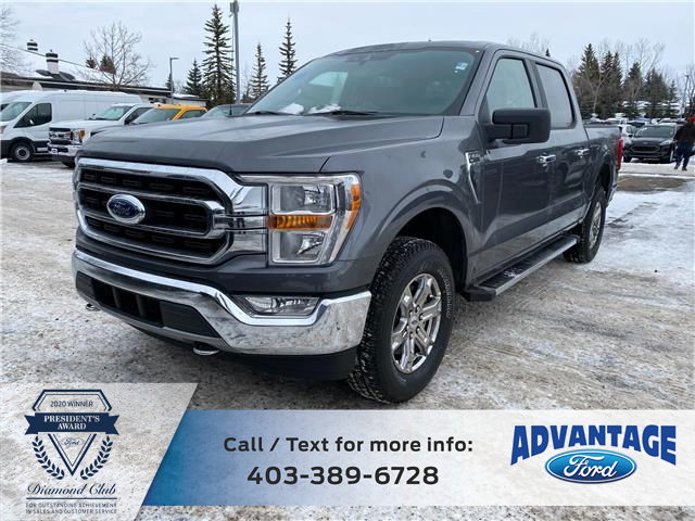 2021 Ford F-150 XLT (Stk: M-054) in Calgary - Image 1 of 5