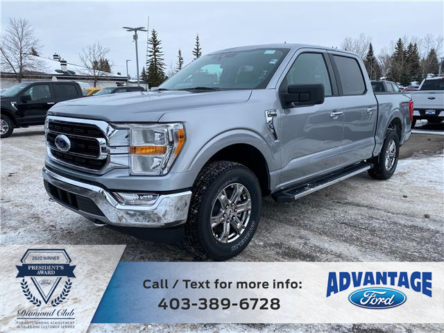2021 Ford F-150 XLT (Stk: M-070) in Calgary - Image 1 of 5