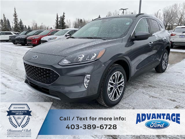 2021 Ford Escape SEL Hybrid (Stk: M-241) in Calgary - Image 1 of 6