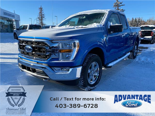 2021 Ford F-150 XLT (Stk: M-104) in Calgary - Image 1 of 5