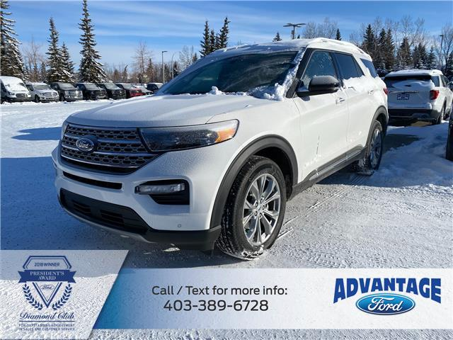 2021 Ford Explorer Limited (Stk: M-184) in Calgary - Image 1 of 7