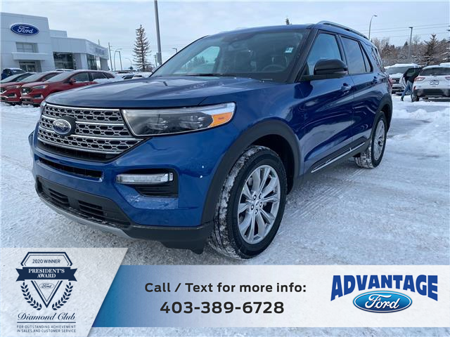 2021 Ford Explorer Limited (Stk: M-185) in Calgary - Image 1 of 7