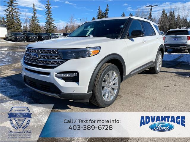 2021 Ford Explorer Limited (Stk: M-216) in Calgary - Image 1 of 7