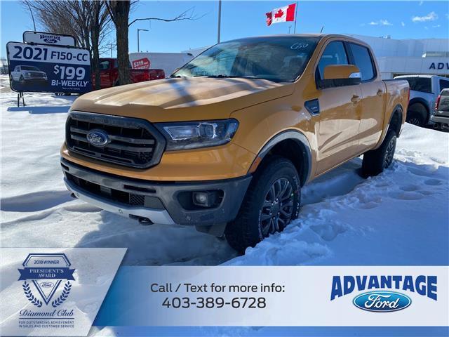2021 Ford Ranger Lariat (Stk: M-329) in Calgary - Image 1 of 5