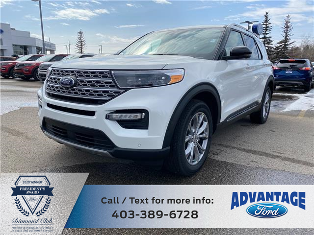 2021 Ford Explorer Limited (Stk: M-708) in Calgary - Image 1 of 6