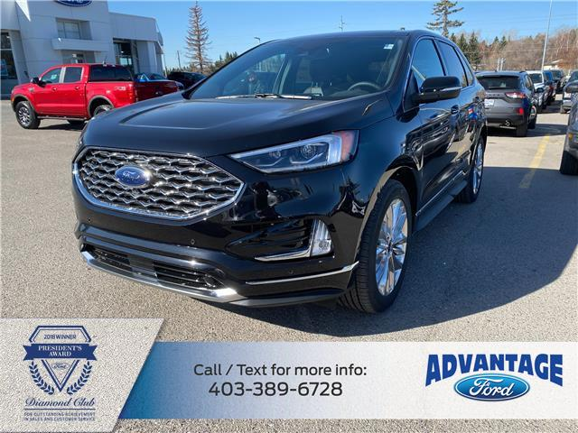 2021 Ford Edge Titanium (Stk: M-210) in Calgary - Image 1 of 7