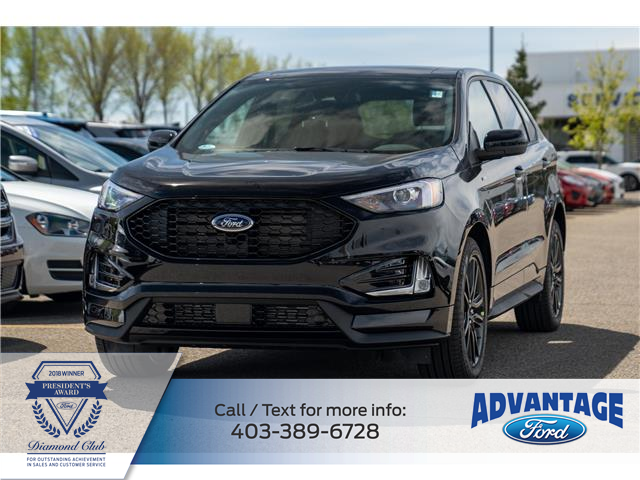 2021 Ford Edge ST Line (Stk: M-847) in Calgary - Image 1 of 7