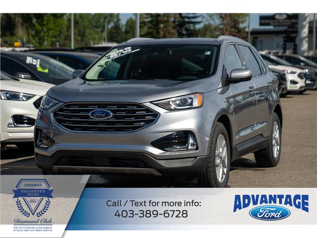 2021 Ford Edge SEL (Stk: M-845) in Calgary - Image 1 of 6