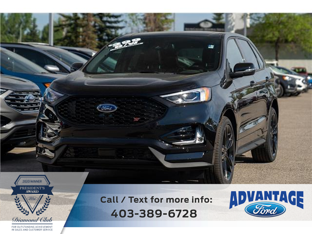2021 Ford Edge ST (Stk: M-833) in Calgary - Image 1 of 7