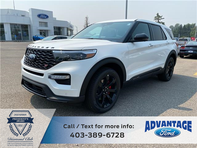 2021 Ford Explorer ST (Stk: M-781) in Calgary - Image 1 of 7