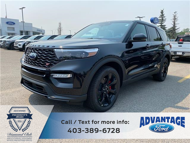 2021 Ford Explorer ST (Stk: M-782) in Calgary - Image 1 of 7
