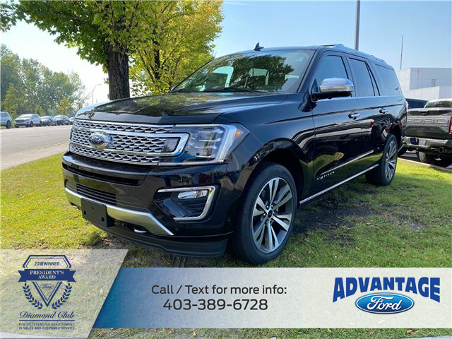 2021 Ford Expedition Max Platinum (Stk: M-1009) in Calgary - Image 1 of 7