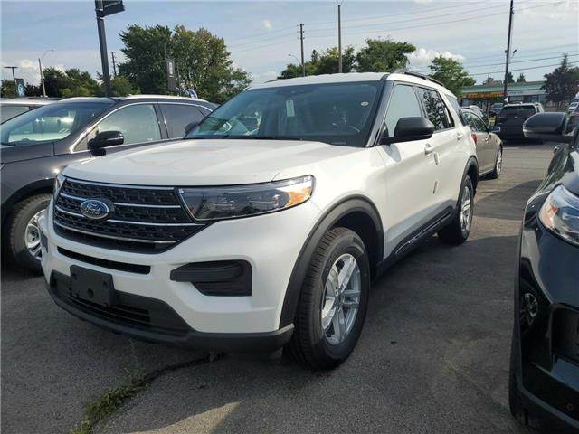 2020 Ford Explorer XLT White
