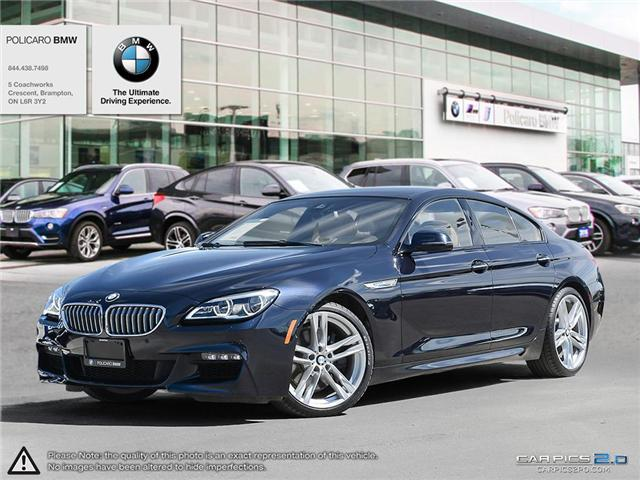 2016 BMW 650i xDrive Gran Coupe (Stk: P388052) in Brampton - Image 1 of 24