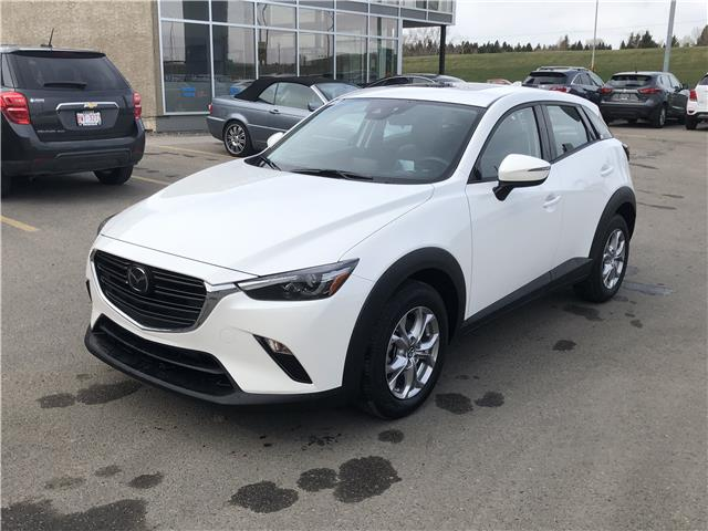 2019 Mazda CX-3 GS (Stk: K8077) in Calgary - Image 1 of 20