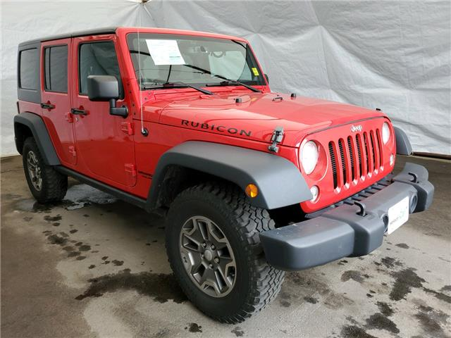 2014 Jeep Wrangler Unlimited Rubicon (Stk: I2011892) in Thunder Bay - Image 1 of 14