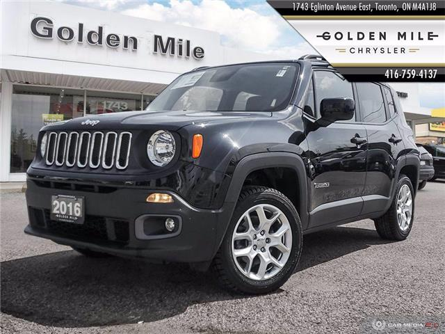 2016 Jeep Renegade North (Stk: P5082) in North York - Image 1 of 25