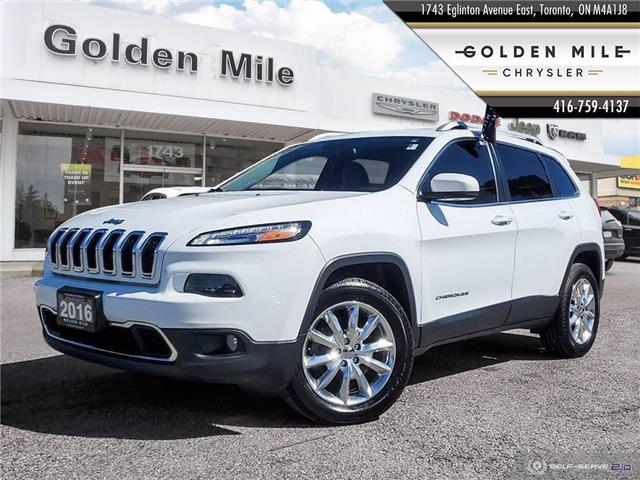 2016 Jeep Cherokee Limited (Stk: P5028) in North York - Image 1 of 25