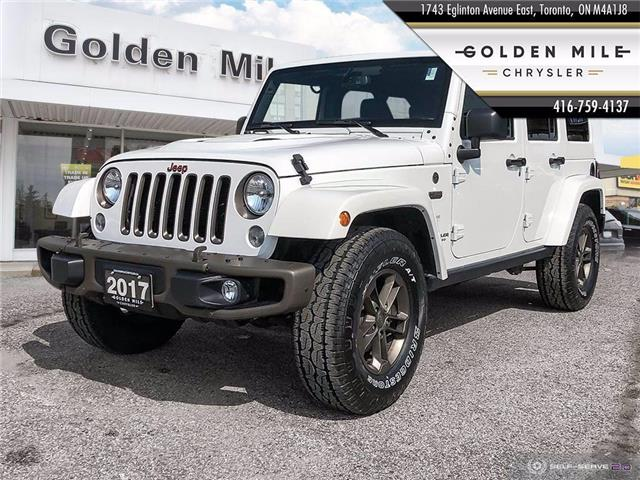 2017 Jeep Wrangler Unlimited Sahara (Stk: P5113) in North York - Image 1 of 25