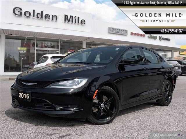 2016 Chrysler 200 S (Stk: P5068A) in North York - Image 1 of 25