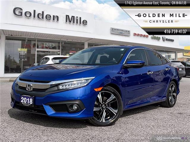 2018 Honda Civic Touring (Stk: 20199A) in North York - Image 1 of 26