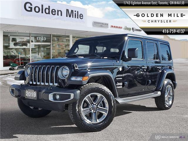 2019 Jeep Wrangler Unlimited Sahara (Stk: P5164) in North York - Image 1 of 26