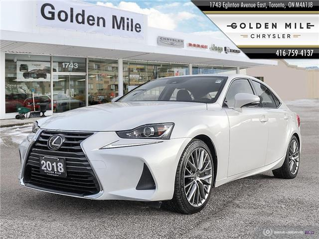2018 Lexus IS 300 Base (Stk: P5192) in North York - Image 1 of 26