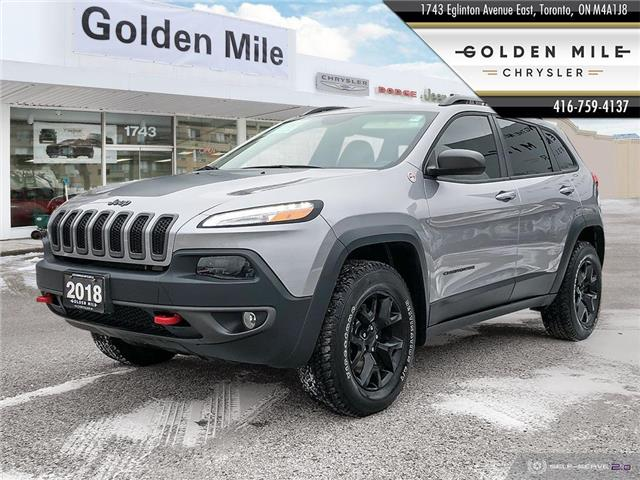 2018 Jeep Cherokee Trailhawk (Stk: 21012A) in North York - Image 1 of 25