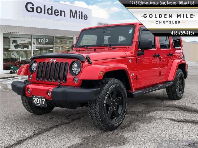 2017 Jeep Wrangler Unlimited Sahara (Stk: 21032A) in North York - Image 1 of 25