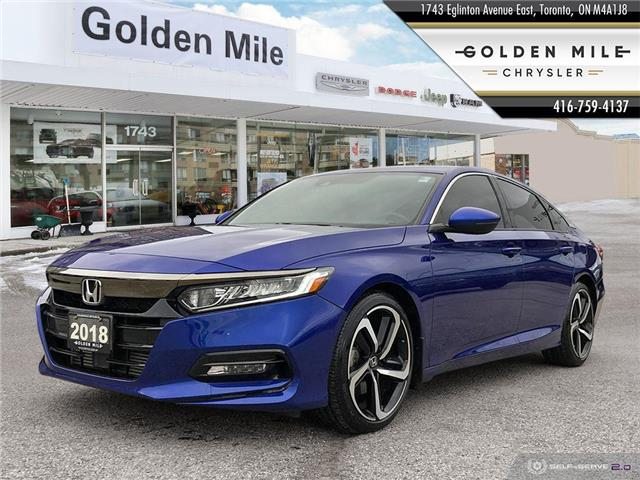 2018 Honda Accord Sport (Stk: P5186) in North York - Image 1 of 27
