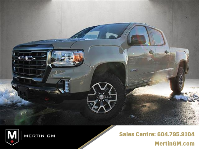 2021 GMC Canyon AT4 (Stk: 217-5854) in Chilliwack - Image 1 of 10