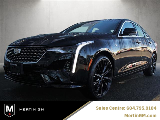 2021 Cadillac CT4 Luxury (Stk: 216-8957) in Chilliwack - Image 1 of 14
