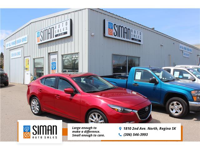2017 Mazda Mazda3 GT JM1BN1W32H1147332 P1852 in Regina