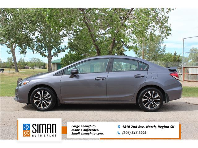 2015 Honda Civic EX (Stk: CC2915) in Regina - Image 1 of 22